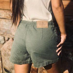 ❤️ French Laundry cargo Shorts